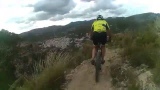Quentar Spain  City new picture : DESCENSO MTB. VEREA MIRADOR QUÉNTAR (Granada).