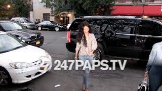 Rihanna and Adriana Lima have Dinner at Da Silvano Restaurant NYC 07-31-14