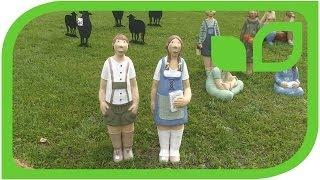 Spanisch-Deutsche Gartenfiguren von Taller de Ceramica German de Juana