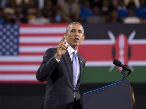 Obama's Speech in Homeland Kenya
