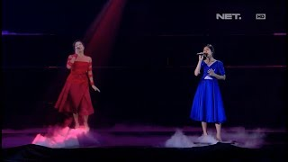 Video Isyana & Raisa - Mimpi & Anganku Anganmu - LIVE from NET 4.0 presents Indonesian Choice Awards 2017 MP3, 3GP, MP4, WEBM, AVI, FLV Mei 2018