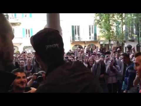 Gemitaiz, il rapper a Varese