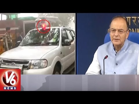 Video Central Govt Bans Use Of Red Beacon Lights On VIP & VVIP Vehicles || V6 News download in MP3, 3GP, MP4, WEBM, AVI, FLV January 2017