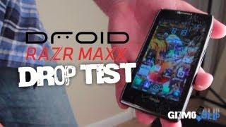Droid Razr Maxx Drop Test - YouTube