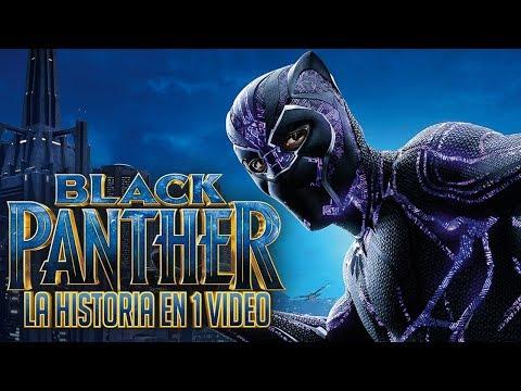 Black Panther: La Historia en 1 Video #CaminoAEndgame
