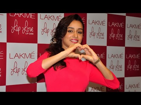 Shraddha Kapoor Launch Lakme Lip Love Lip Care Product
