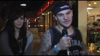 Winds Of Plague Interview on The Sunset Strip.