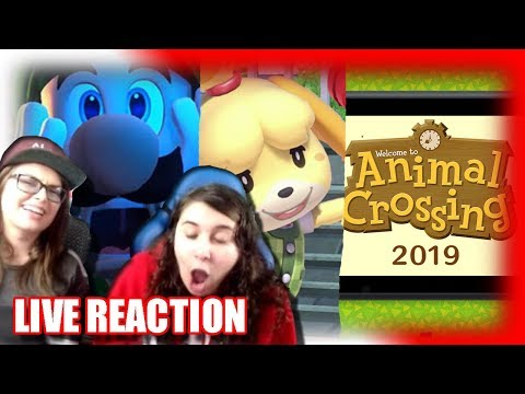Nintendo Direct 9.13.2018 LIVE REACTION - SuperGirlKels (видео)