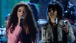 Lorde Vs Joan Jett: Best Nirvana Performance At Rock And Roll Hall Of Fame 2014