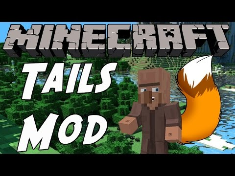 How To Get A Tail And Animal Ears! (Minecraft Mod Review)