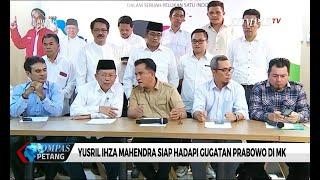 Video Pimpin Tim Hukum TKN, Yusril Ihza Siap Meladeni Gugatan Prabowo di Mahkamah Konstitusi MP3, 3GP, MP4, WEBM, AVI, FLV Mei 2019