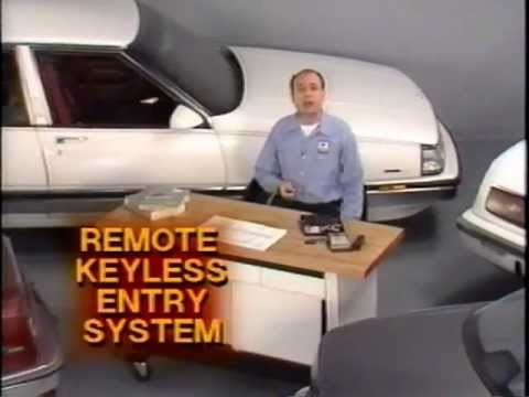 Buick – Remote Keyless Entry Systems (1989)