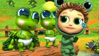 Video Five Little Speckled Frogs | Learn Counting MP3, 3GP, MP4, WEBM, AVI, FLV Juli 2018