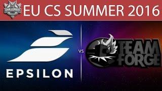 Epsilon vs Forge, game 1