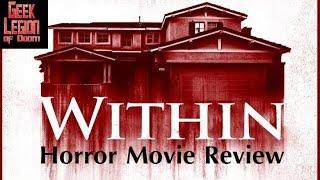 Within   2016 Michael Vartan   Aka Crawlspace Horror Movie Review