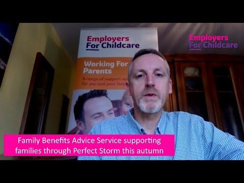 Family Benefits Advice Service supporting families at a challenging time