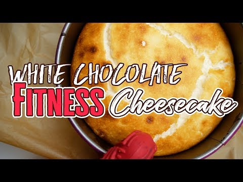 Fitness WHITE CHOCOLATE Cheesecake - REZEPT low carb