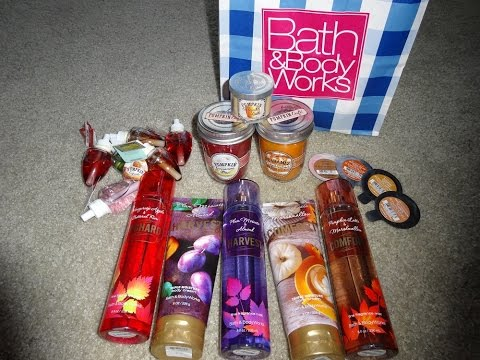 Haul: Bath and Body Works Fall Collection