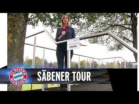Behind the scenes at Bayern Munich, beer garden and all…