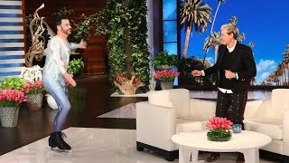 Video Jimmy Kimmel, Jamie Foxx, and Chance the Rapper Surprise Ellen During Her Star-Studded Birthday Show MP3, 3GP, MP4, WEBM, AVI, FLV Februari 2018