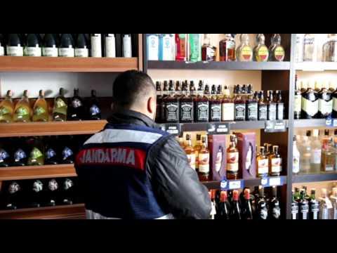 Milas'ta kaçak alkollü içki denetimi
