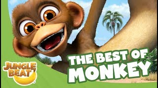 Video The Best of Monkey - Jungle Beat Compilation [Full Episodes] MP3, 3GP, MP4, WEBM, AVI, FLV September 2018