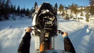 1. 2013 Polaris Assault Boondocker Turbo Wheelie Time