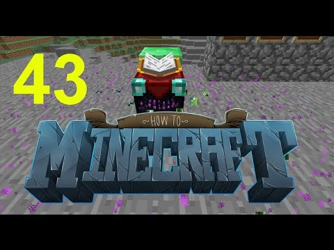 """Minecraft: SMP HOW TO MINECRAFT #43 """"SECRET ENCHANTMENT ROOM"""" with JeromeASF"""