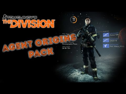 Try It On: Tom Clancy's The Division Agent Origins Gear Sets (No Commentary)