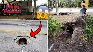 Video Dikira Sink Hole, Setelah Dicek Polisi Ternyata... MP3, 3GP, MP4, WEBM, AVI, FLV Mei 2019