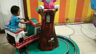 Naik kereta api // lagu anak anak
