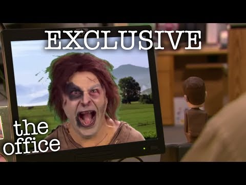 Jim Scares Dwight Prank (EXCLUSIVE) - The Office US