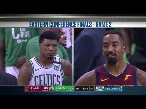 Marcus Smart & JR Smith Exchange Heated Text Messages With Each Other!!!