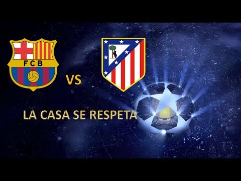 PES 2014 | UEFA Champions League | Cuartos de Final Ida | FC Barcelona vs Atlético de Madrid