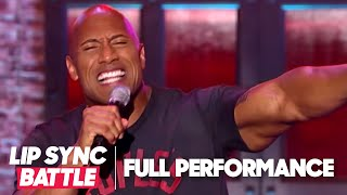 Dwayne Johnson's Shake It Off vs Jimmy Fallon's Jump In The Line | Lip Sync Battle - YouTube