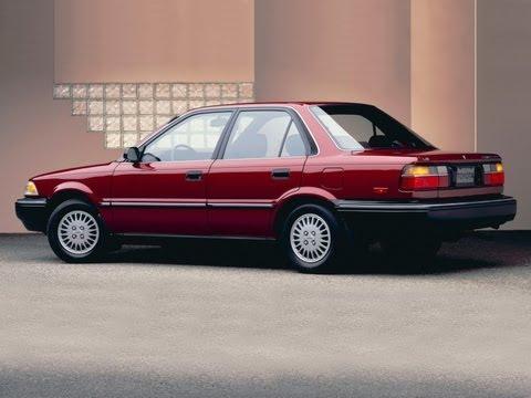 Капитальный ремонт Toyota Corolla 1991г E90. Часть 1.