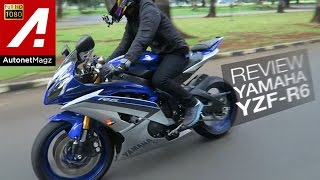 9. Review Yamaha YZF R6 Indonesia by AutonetMagz with JodieMotovlog HD