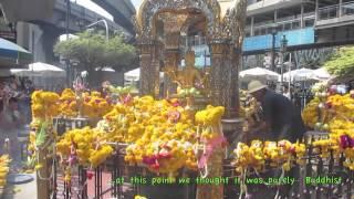 Bangkok - Erawan Shrine- Pak Khlong Talat Flower Market - 7-Eleven Coffee - And More