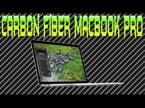 Attempting to Carbon Fiber Vinyl Wrap Macbook Pro
