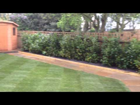 Landscape Gardening finished project in Chertsey, Surrey