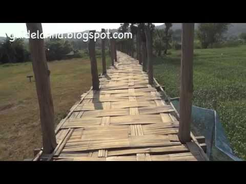 สวนธรรมภูสมะ สะพานซูตองเป้ เที่ยวแม่ฮ่องสอน Suan Tham Phusama Mae Hong Son (видео)