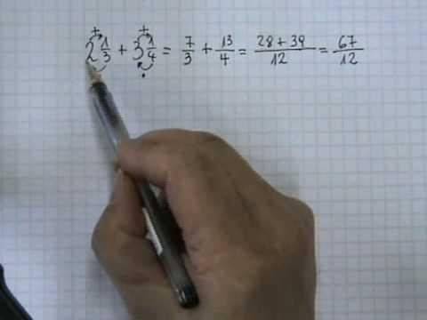 Vídeos Educativos.,Vídeos:Suma de números mixtos 1