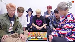 [Vietsub/ Edit ver] BANGTAN BOMB BTS 'DNA' MV REAL reaction