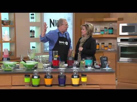 Nutri Ninja 1000 Watt Pro Blender w/ Nutrition Guide & Recipes with Carolyn Gracie