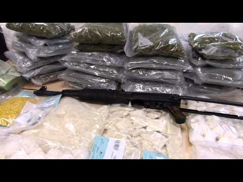 AK-47 Seized in Million-Dollar Drug Bust