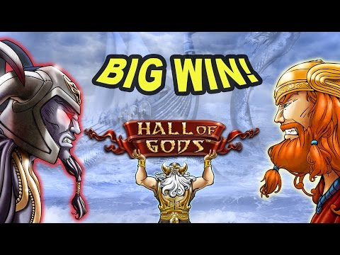 Unexpected BIG WIN on Hall of Gods Slot - £2 Bet