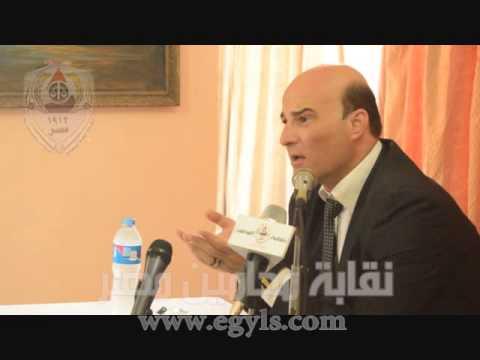 بالفيديو.. الزيات عن ترشحه لمنصب النقيب :