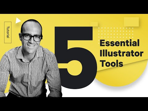 Top 5 Adobe Illustrator Tools You Should Know - Design Tutorial
