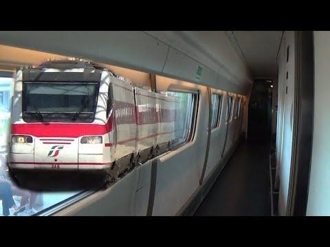 INTERNI del PENDOLINO! Treno ETR460-24 storico
