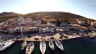 Kea Greece  city photos : Kea, Greece, Harbor Aerial Views